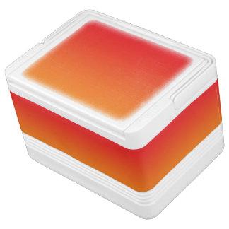 Red & Orange Ombre Igloo Ice Chest