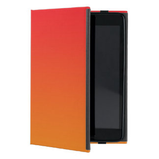 Red & Orange Ombre Case For iPad Mini
