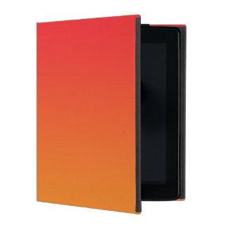 Red & Orange Ombre iPad Case