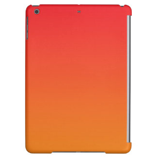 Red & Orange Ombre Cover For iPad Air