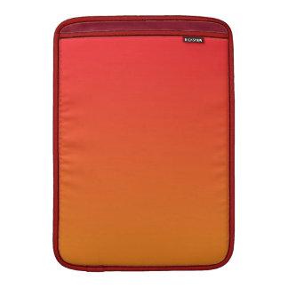 Red & Orange Ombre MacBook Sleeve