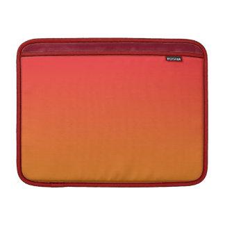 Red & Orange Ombre MacBook Sleeves