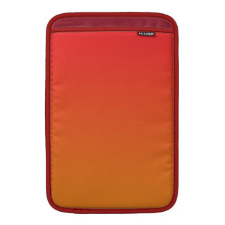 Red & Orange Ombre Sleeves For MacBook Air