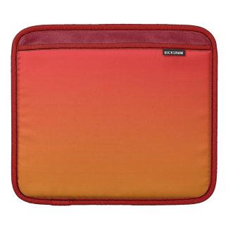 Red & Orange Ombre iPad Sleeves