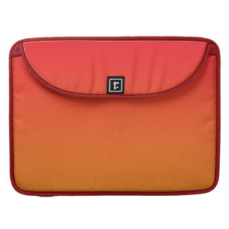 Red & Orange Ombre Sleeve For MacBook Pro