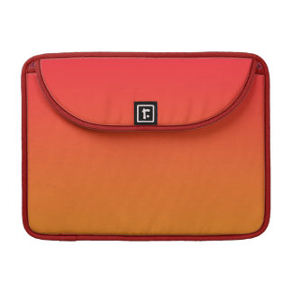 Red & Orange Ombre Sleeves For MacBook Pro