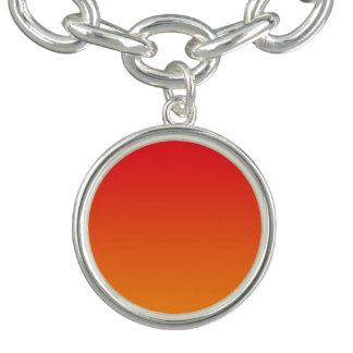 Red & Orange Ombre Bracelet