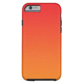 Red & Orange Ombre Tough iPhone 6 Case