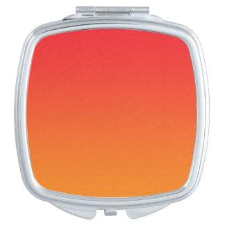 Red & Orange Ombre Vanity Mirror