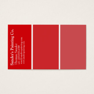 Red Painters Business Card