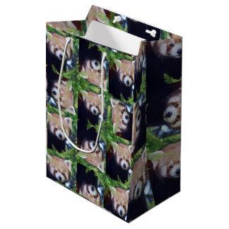 Red Panda Medium Gift Bag