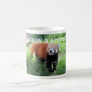 Red Panda Secret Coffee Mug