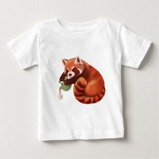 Red Panda Tea Time Baby T-Shirt