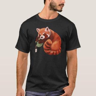 Red Panda Tea Time T-Shirt