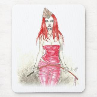 Red Phoenix Rising Mousepad