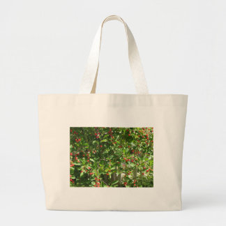 Red Pie Cherries Large Tote Bag