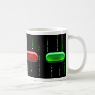RED PILL COFFEE MUG