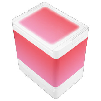 Red & Pink Ombre Chilly Bin