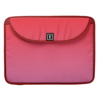 Red & Pink Ombre Sleeve For MacBooks