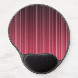 Red Pinstriped Gel Mouse Pad