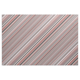 Red Pinstripes Fabric