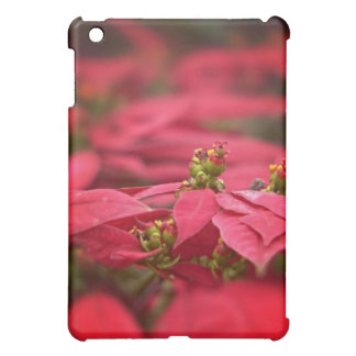 Red Poinsettia iPad Case