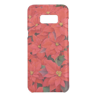 Red Poinsettias I Christmas Holiday Floral Photo Uncommon Samsung Galaxy S8 Plus Case