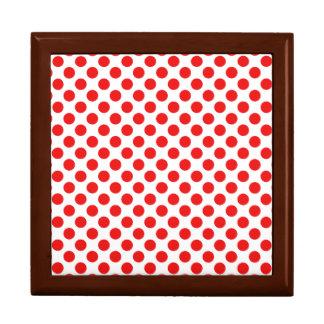 Red Polka Dots Gift Box