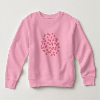 Red Polka Dots Toddler Sweatshirt