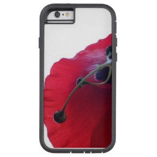 red poppy tough xtreme iPhone 6 case