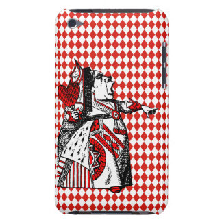 Red Queen of Hearts Alice In Wonderland Ipod Touch iPod Case-Mate Cases
