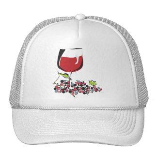 Red, Red Wine Cap