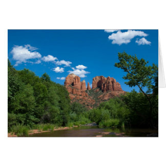 Red Rock Crossing Greeting Card 4237
