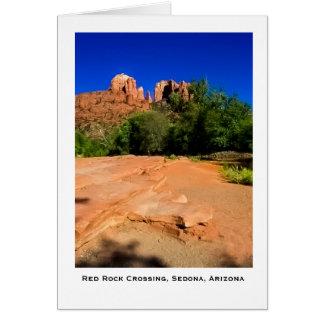 Red Rock Crossing Sedona, Arizona Greeting Card