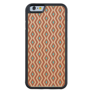 Red Rock Diamond Zigzag Wood Case Carved® Maple iPhone 6 Bumper