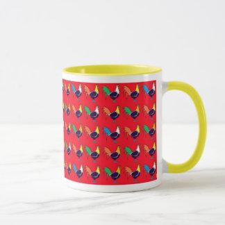 Red Roosters Mug