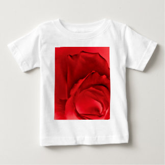Red Rose Abstract Baby T-Shirt