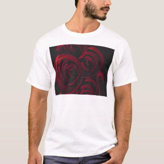 Red Roses in the Dark T-Shirt
