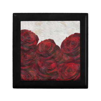 Red Roses Oil Textured Gift Box