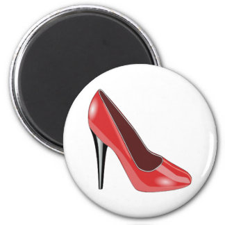 Red Shoe Magnet