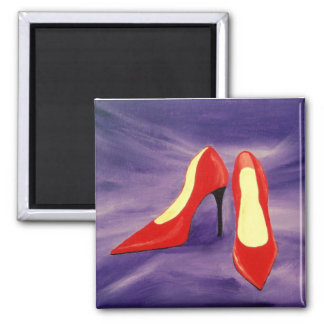 Red Shoes Magnet