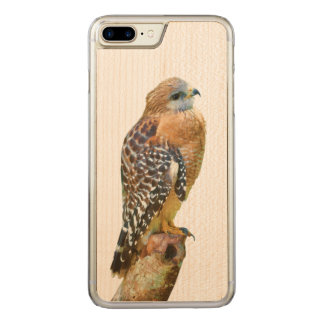 Red-Shouldered Hawk Carved iPhone 8 Plus/7 Plus Case