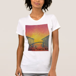 Red Skyed Venice T-Shirt