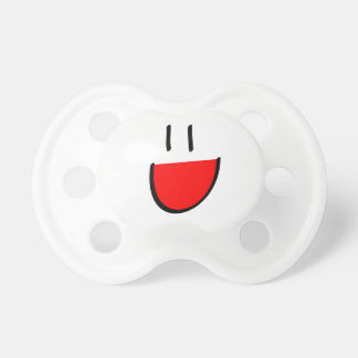 Red Smiley Infant/Baby Pacifier (Dummy)