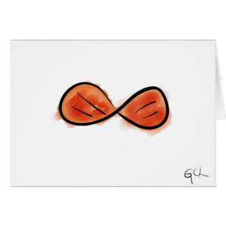 Red Snazzy Bowtie Greeting Card