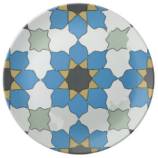 Red Spanish Tile Plate