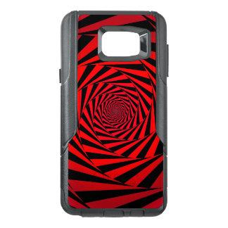 Red spiral alternative OtterBox samsung note 5 case