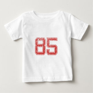 Red Sports Jerzee Number 85 Baby T-Shirt