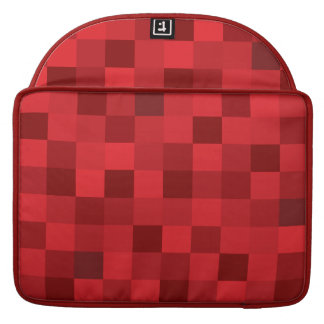 Red Squares Macbook Pro Case Sleeves For MacBook Pro