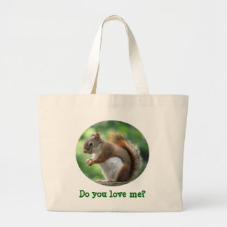 Red Squirrel Tote